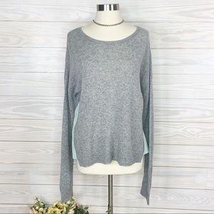 Aqua Bloomingdales Sweater Pure Cashmere Size M